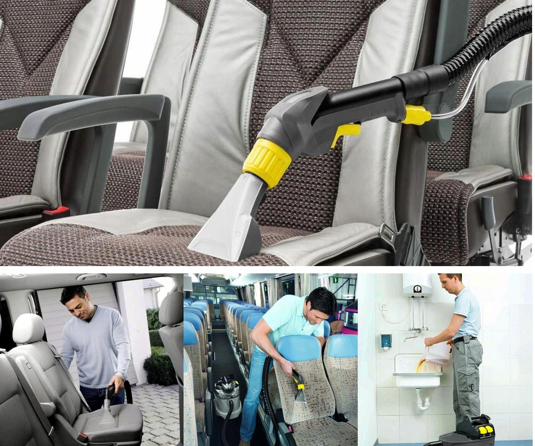 samochód – pranie tapicerki